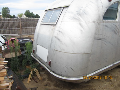 1946 Spartan Manor 25 Ft Trailer